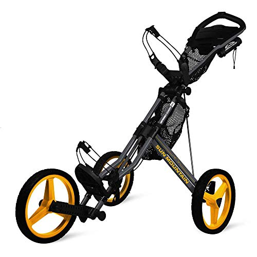 Sun Mountain Speed Cart GX Steel Grey/Yellow