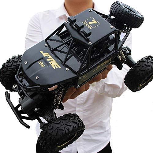 HENGHENG RC Car 4WD Rock Crawlers conducción Doble Motors Big Foot Control Remoto de Cuatro Ruedas a la Deriva Modelo Vehículo de Todo Terreno de Juguetes educativos Niños Mejor Año Nuevo veh