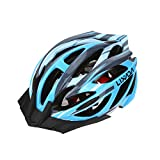 Lixada Bicycle Helmet Mtb/Road Bike Helmets Cycling Mountain Racing, Men Women Keep Safety, Adult Child Kids, with 21 Vents Adjustable Ultralight Integrally-molded
