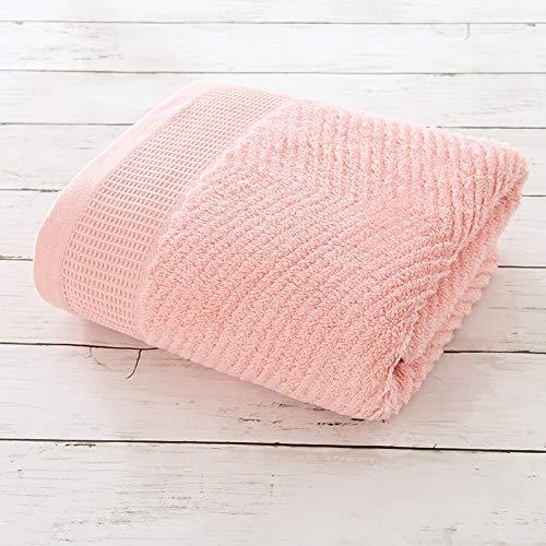 DSJDSFH badhanddoek van puur katoen 70 x 140 cm handdoek comfortabel en robuust van pure kleur voor Genitori en Loro Stessi Vita Sana van puur katoen