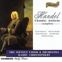 Georg Friedrich Haendel Chandos Anthems n° 1 - 11