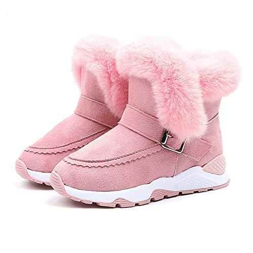 catmoew Schneeschuhe Schuhe Kinder Plüschschuhe Schneebedeckte Stiefel Warme Kurze Stiefel Säugling Baby Jungen Mädchen Kind Pelz Herde Winter Bootie Schnee beschuht Stiefel
