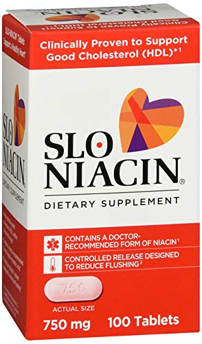 Mission Pharmacal Slo-niacin 750 mg, 100 Count