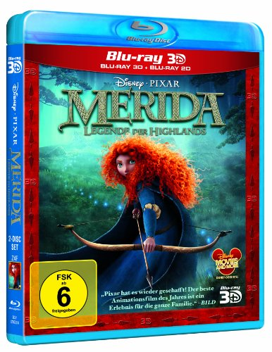 Merida - Legende der Highlands (+ Blu-ray 2D) [Blu-ray 3D]