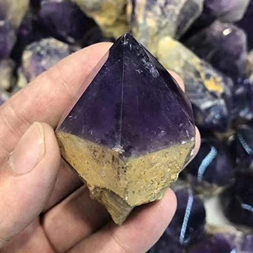 Natural Amethyst Points Rough Quartz Crystal 1pc Healing Max 66% OFF Complete Free Shipping Stones
