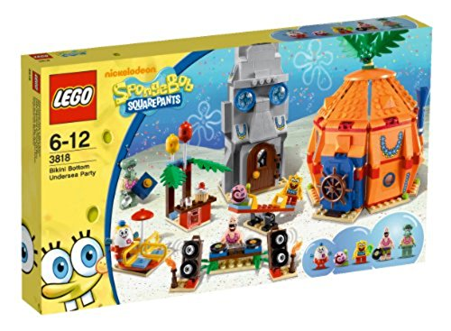 LEGO SpongeBob 3818 - Unterwasser-Party in Bikini Bottom