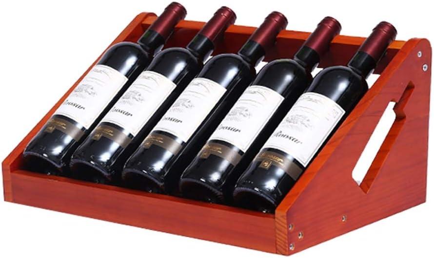 zxb-shop Almacenamiento de Botellas de Vino Creativo Estante de Vino Europeo Hogar Botella de Vino Estante Simple vinoteca decoración de la joyería decoración Botellero de Mesa