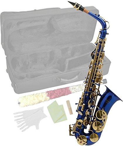 Steinbach Eb Alt-Saxophon in Blau mit hohem FIS