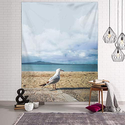 WERT Tapices de Paisaje Toalla de Playa 3D Hojas Verdes Hermoso Bosque Impresión Alfombra de Pared Estera de Yoga Decoración para el hogar Tapiz A12 200x150cm
