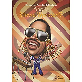 Who is Stevie Wonder? audiobook cover art