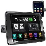 XOMAX XM-VA910R Radio de Coche con Android 10 I Quad Core, 2GB RAM, 32GB ROM I GPS I Soporte WiFi, 3G, 4G, Dab+, OBD2 I Bluetooth I 9' IPS Pantalla Táctil I USB, SD, RDS I 1 DIN