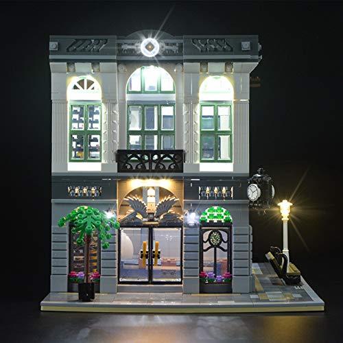 iCUANUTY Kit de Iluminación LED para Lego 10251, Kit de Luces Compatible con Lego Creator Banco (No Incluye Modelo Lego)