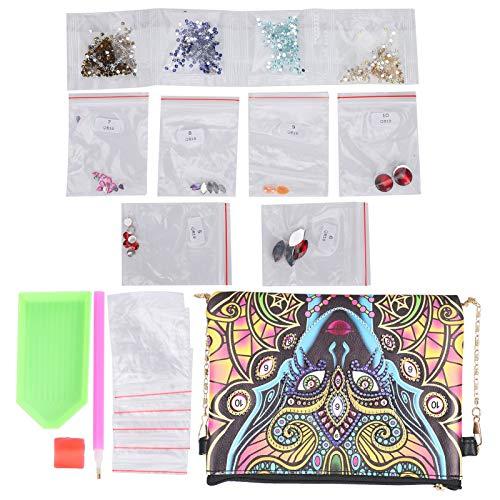 Bolsa de monedas personalizada, pintura de diamante con taladro completo, para bolso de hombro, bolso de mensajero, bolso, bolso de maquillaje para damas, niñas, esposas y amantes