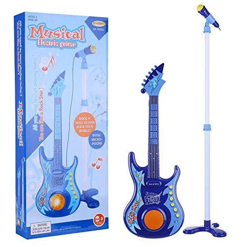 GST Instrumentos de Cuerda para niños Micrófono Multifuncional Micrófono + Playset de...
