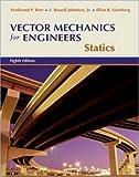 Vector Mechanics for Engineers: Statics w/CD-ROM by Beer,Ferdinand, Johnston, Jr.,E. Russell, Eisenberg,Elliot, Mazurek,David(March 29, 2006) Hardcover