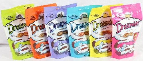 Dreamies Packs of Mixed, Pack of 12