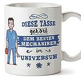 Mechaniker Tasse/Becher/Mug Geschenk Schöne and lustige kaffetasse - Diese Tasse gehört dem besten...