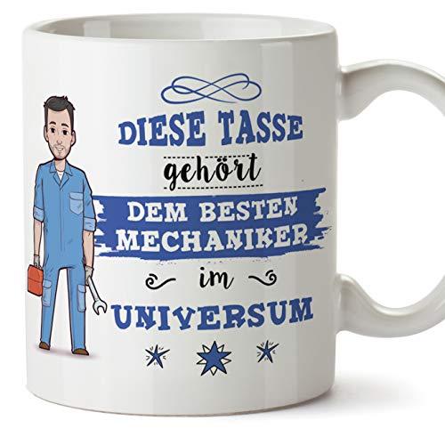 Mechaniker Tasse/Becher/Mug Geschenk Schöne and lustige kaffetasse - Diese Tasse gehört dem besten Mechaniker im Universum - Keramik 350 ml