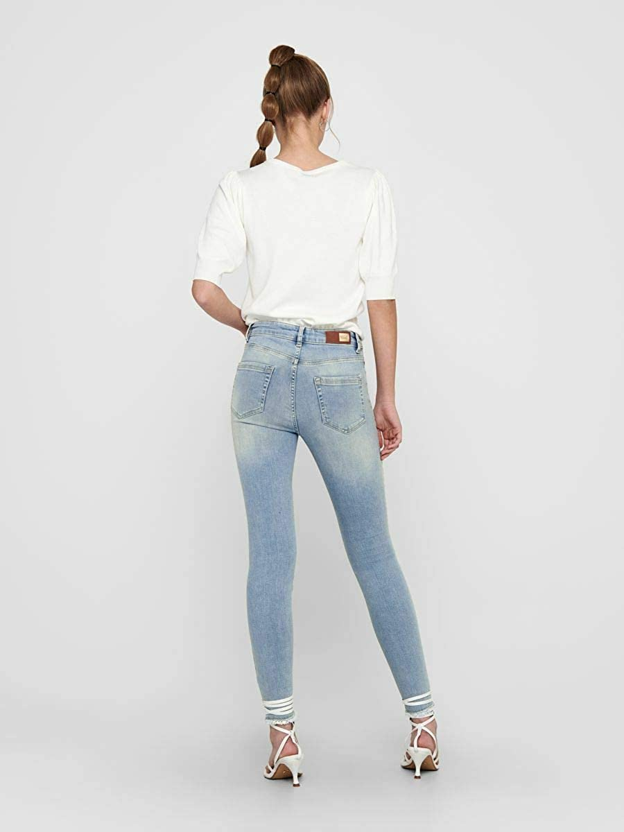 ONLY Damen Skinny Fit Jeans ONLBlush Mid Ankle