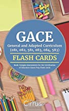 GACE Special Education General and Adapted Curriculum (081, 082, 581, 083, 084, 583) Flash Cards Book: Georgia Assessments for the Certification of Educators Exam Prep Flash Cards