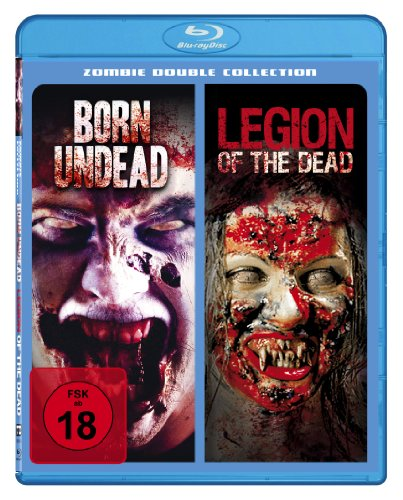 Born Undead / Legion Of The Dead - Zombie Double Collection [Blu-ray]