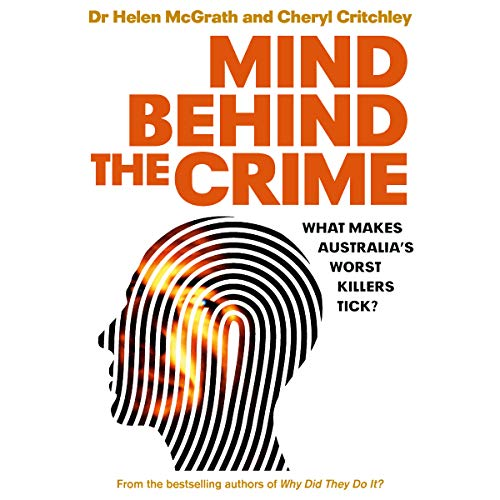 Mind Behind the Crime audiobook cover art
