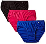 Jockey Women's Cotton Bikinis (Pack of 3) (Bhar5108_Multicolored_Large)