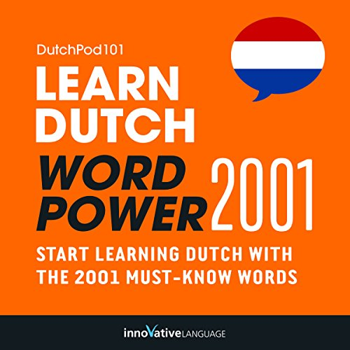 Learn Dutch: Word Power 2001 audiobook cover art