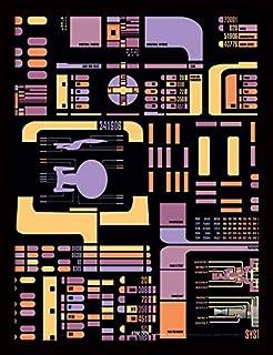 Star Trek The Next Generation - Póster Enmarcado (30 x 40 cm)