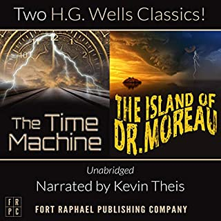 The Time Machine and The Island of Doctor Moreau, Unabridged cover art