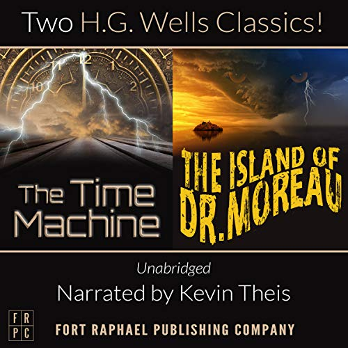 The Time Machine and The Island of Doctor Moreau, Unabridged     H.G. Wells' Classic Collection              Written by:                                                                                                                                 H.G. Wells                               Narrated by:                                                                                                                                 Kevin Theis                      Length: 9 hrs and 6 mins     Not rated yet     Overall 0.0