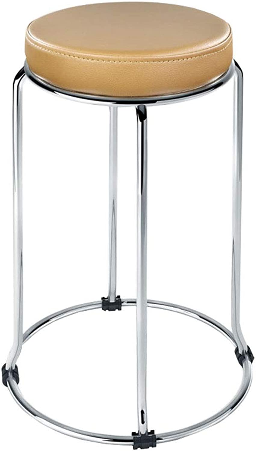 Small Stool Simple and Stylish Folding Bar Stool Kitchen High Stool Dining Small Seat