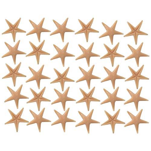 Musykrafties étoile de mer étoile de mer 30 pièces Aquarium Terrarium Fée Jardin miniature Jardin Maison de poupée pour gâteau Plastique de scrapbooking Décoration