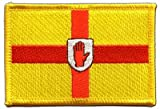 Aufnäher Patch Flagge Irland Ulster - 8 x 6 cm