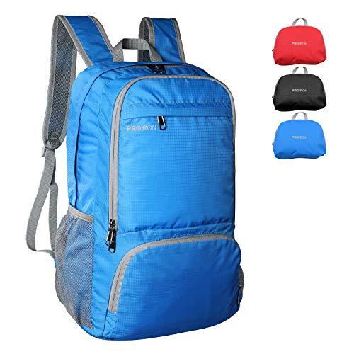 PROIRON Leichter, verstaubarer Wanderrucksack, 21 l, für Reisen und Camping, blau (Blau) - PRO-ZDBB01US-3