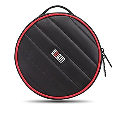 BUBM Nylon 32 Capacity Padded CD/DVD/Blu-Ray Ca...
