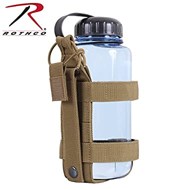 Rothco Lightweight MOLLE Bottle Carrier, Coyote Brown
