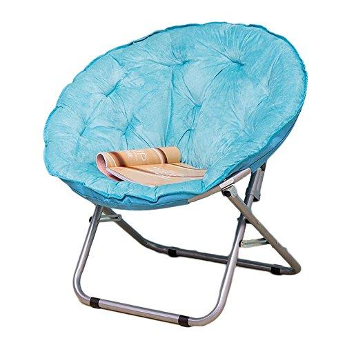 JFFFFWI Lazy Sofa, Moon Chair, Liegestühle für die Mittagspause, Liegestühle, Lazy Chairs, runde Stühle, Rückenlehne Adult Sofa Chair (Farbe: 3#)