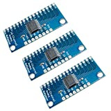 HiLetgo 3pcs CD74HC4067 CMOS 16 Channel Digital Analog Multiplexer Breakout Module for Ard...