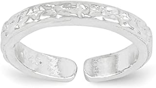 Lex & Lu Sterling Silver Toe Ring LAL22360