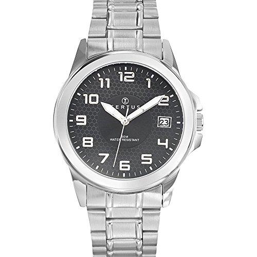 Certus analoog unisex horloge met armband van roestvrij staal 616223