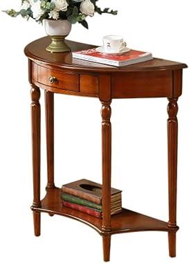 Ai xin shop Domicile Console Sofa Table avec tiroir, la Maison Meubles Mobilier d'entrée Way Console Table, Table Basse T