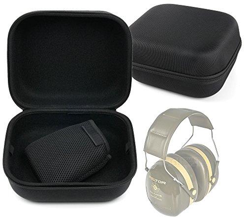 Schutzhülle Schutzhülle Schwarz für Bull 's Eye Peltor I II III Ear Defenders, 3m peltor x Serie, MPOW® Kinder Gehörschutz–Größe XL DURAGADGET