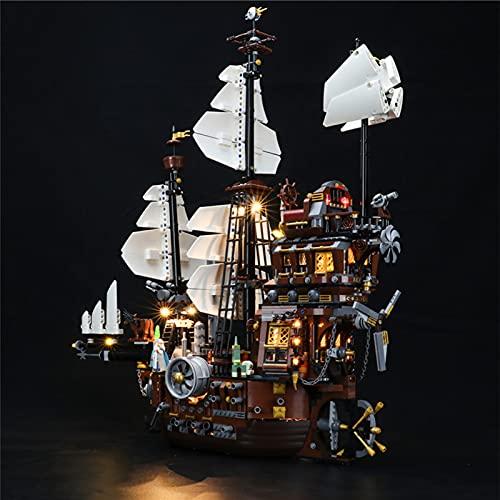 Sungvool Juego de luces LED para Lego Movie 70810 Metal Beard's Sea Cow Decoraciones para Lego 70810 (sin modelo Lego)