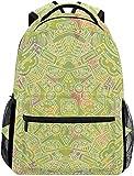 MODORSAN Zaino scolastico Borsa da viaggio leggera decorativa da viaggio Daypack per ragazze