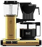 Technivorm 59163 KBG Coffee Brewer, 40 oz, Brushed Brass