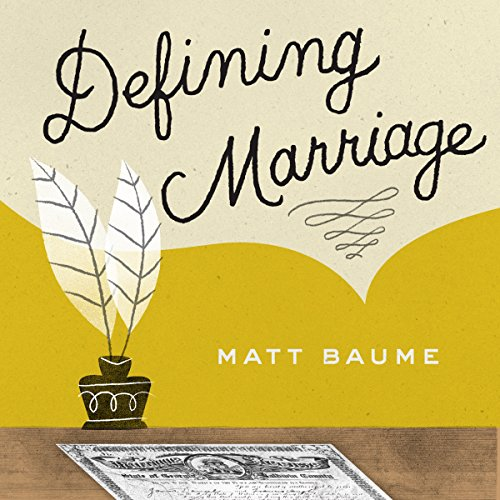 Defining Marriage cover art