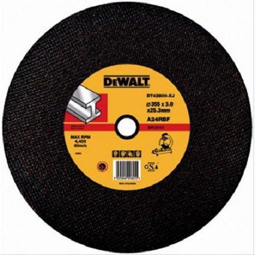 Dewalt - Disco para sierra tronzadora corte metal 355x3x25,4 mm dw871-d28700