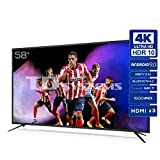 TD Systems K58DLJ12US - Televisores Smart TV 58 Pulgadas 4k UHD...