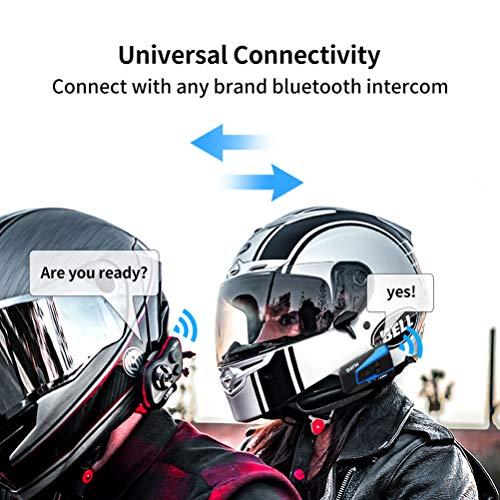 LEXIN B4FM Motorradhelm Intercom, Bluetooth Motorrad Headset Windgeräuschreduzierung, Bluetooth-Kommunikationssystem für Motorräder - 6